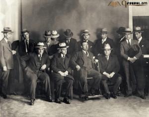 Նկարում ամերիկյան մաֆիան է 1928 թվականին